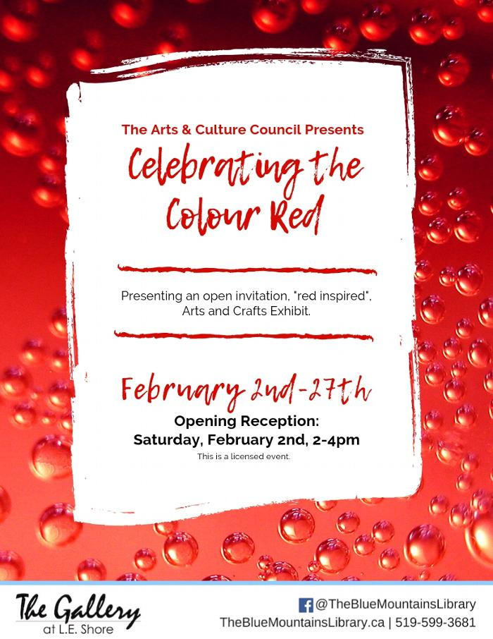 Celebrating the Colour Red