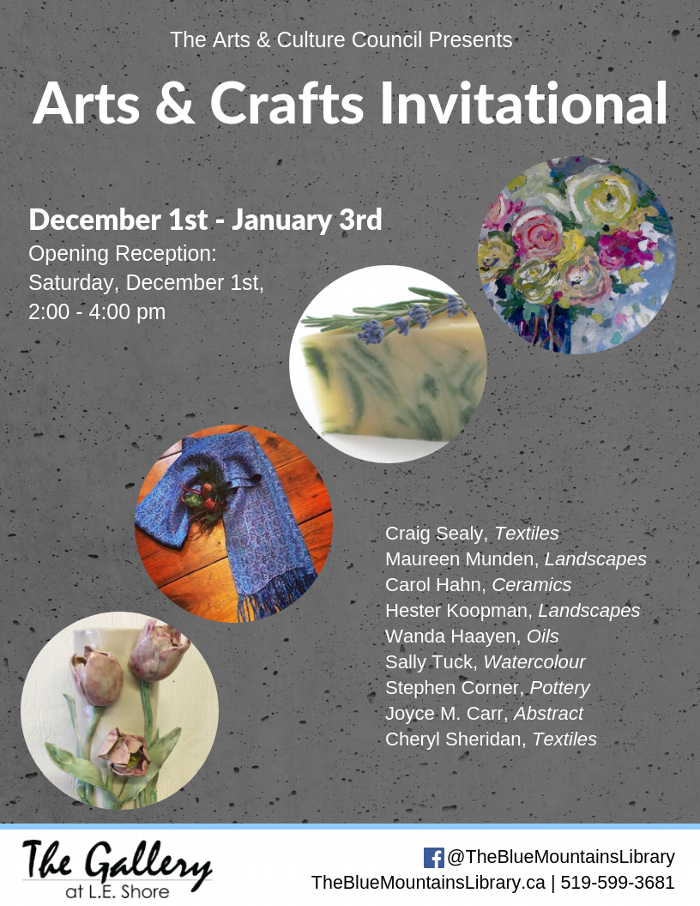 Arts & Crafts Invitational