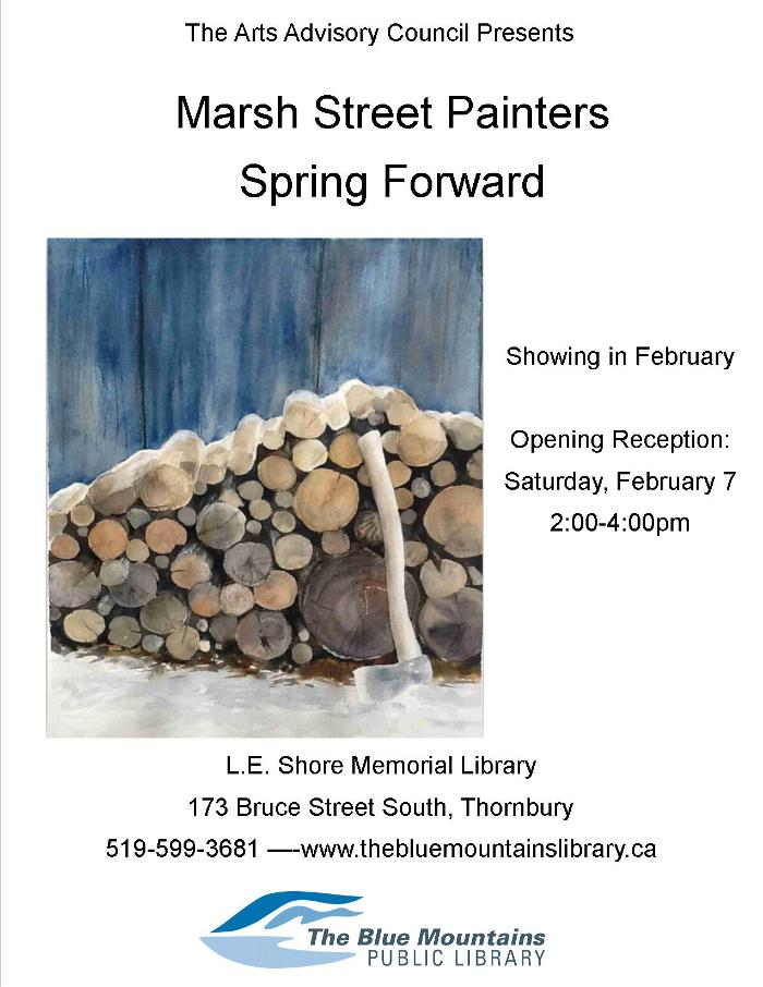 The Marsh Street Painters Spring Forward