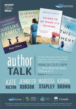 Author Talk at the LE Shore Library