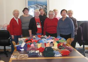 Thank-you Library Knitting Group