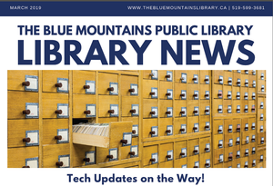 Library News, March 2019