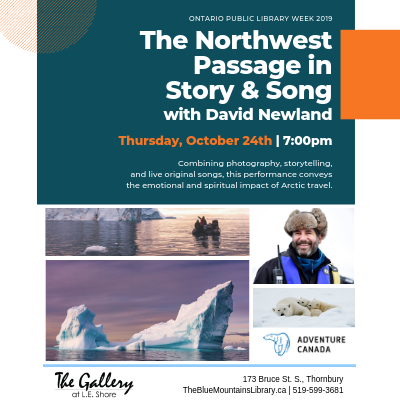 The Northwest Passage in Story and Song with David Newland