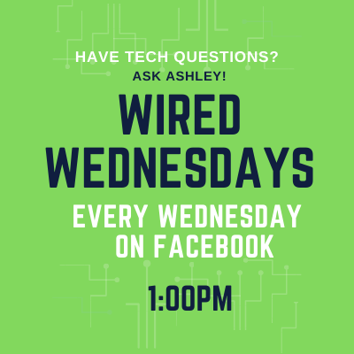 Wired Wednesdays: My Account (Library Website) (Video)