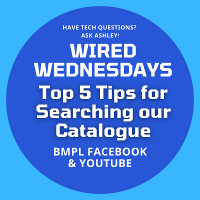 Wired Wednesdays Live: Top 5 Tips for Searching Our Catalogue (Video)