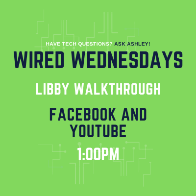 Wired Wednesdays Live: Libby Walk through (Video)
