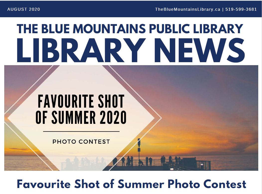 Library News, August 2020: L.E. Shore Reopens August 18