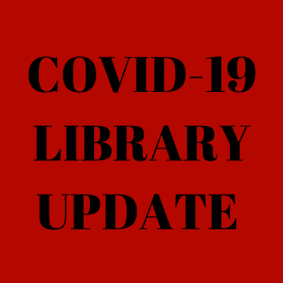 Library Service Update March 16, 2020