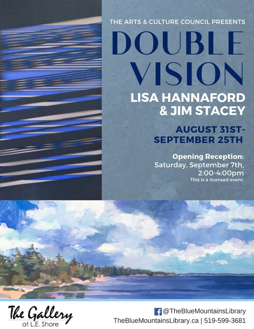 Double Vision: Lisa Hannaford & Jim Stacey