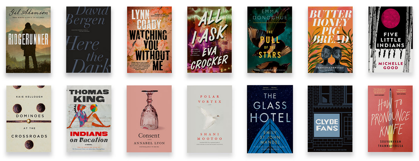 Scotiabank Giller Prize 2020 Longlist